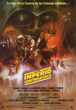 Cartel de Star Wars: Episodio V - El imperio contraataca
