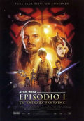 Cartel Star Wars: Episodio I - La amenaza fantasma