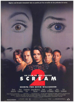 Cartel de Scream 2