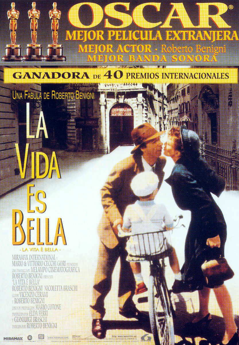 La Vida es Bella [DVDRip][Español Latino][MEGA]