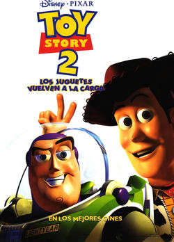 Cartel de Toy Story 2