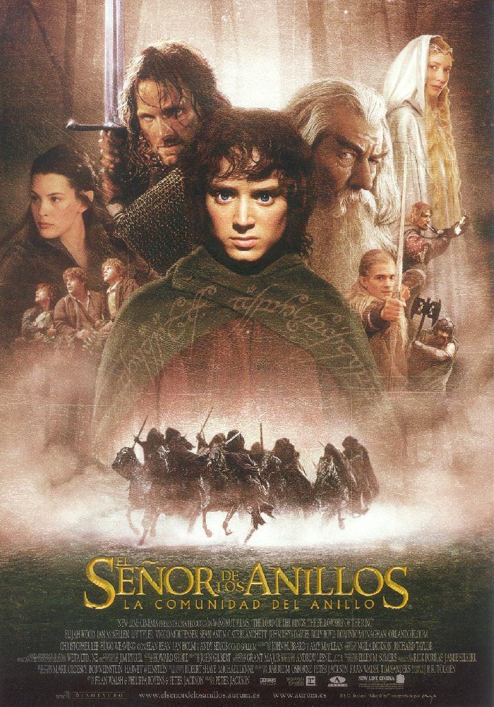 Cartel España de 'El Señor de los anillos: La comunidad del anillo'