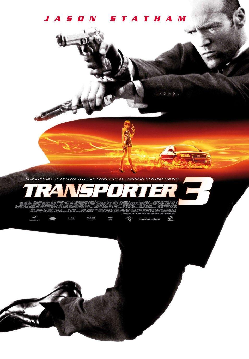 Cartel España de 'Transporter 3'
