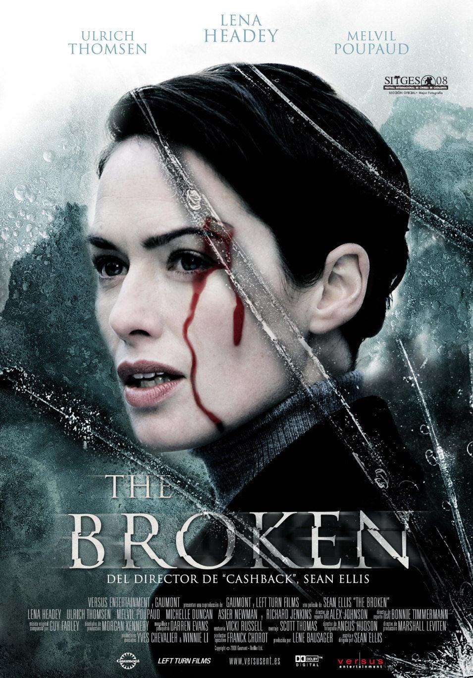 Cartel España de 'The broken'