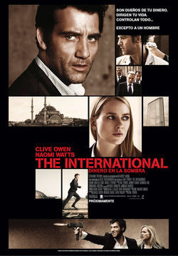 Cartel de The International: Dinero en la sombra
