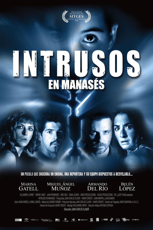 Cartel España de 'Intrusos en Manasés'