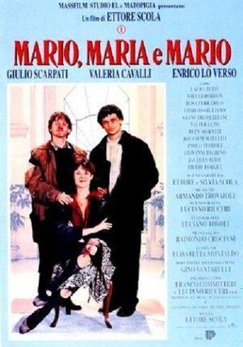 Cartel Italia de 'Mario, María y Mario'