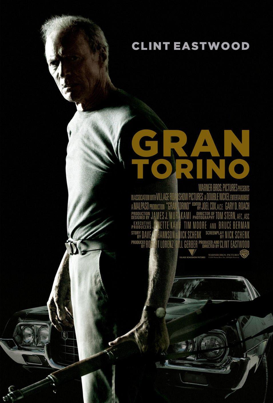 Cartel España de 'Gran Torino'