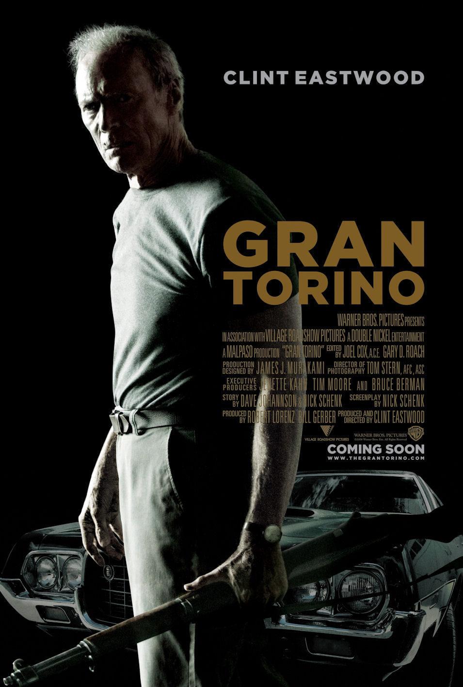 Cartel Estados Unidos de 'Gran Torino'