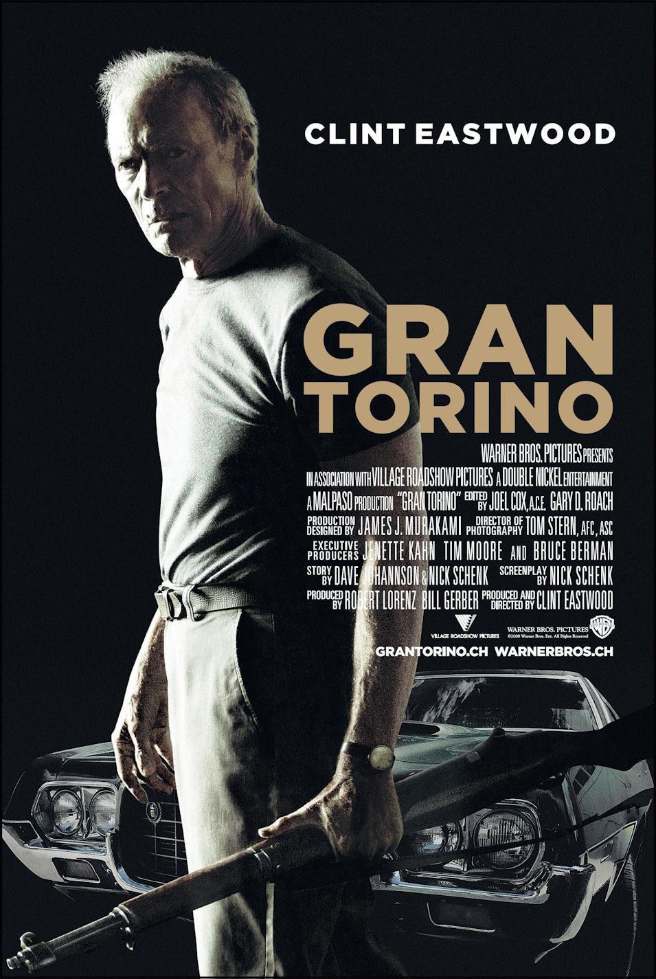 Cartel Suiza de 'Gran Torino'