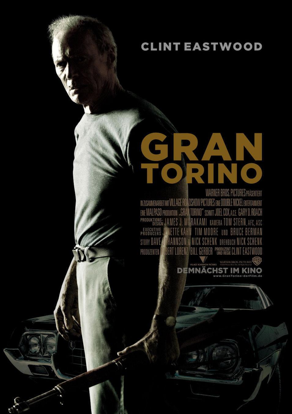 Cartel Alemania de 'Gran Torino'