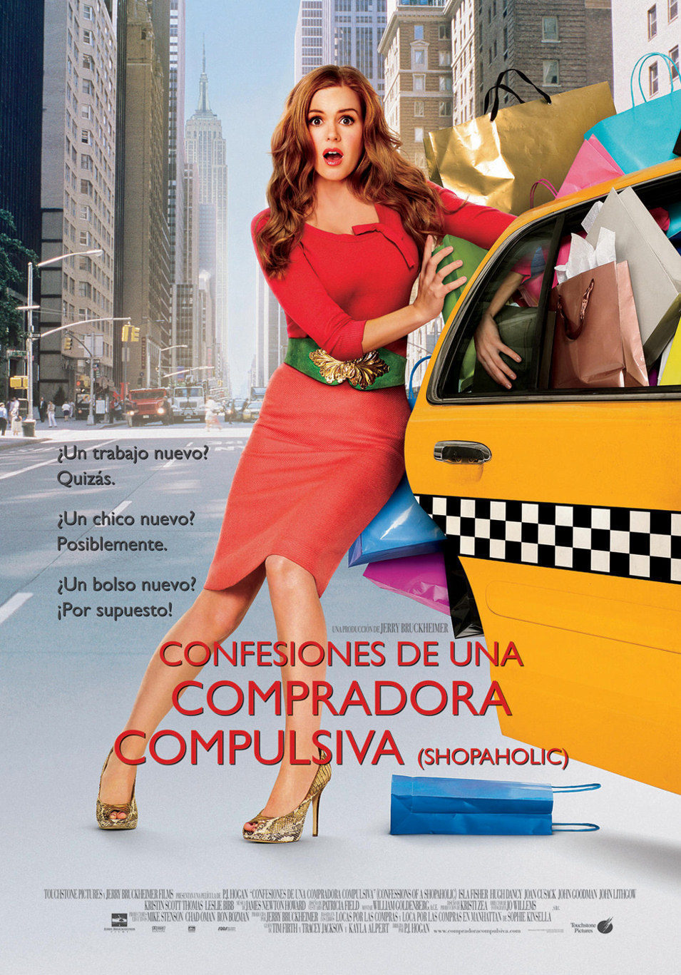 Cartel España de 'Confesiones de una compradora compulsiva'