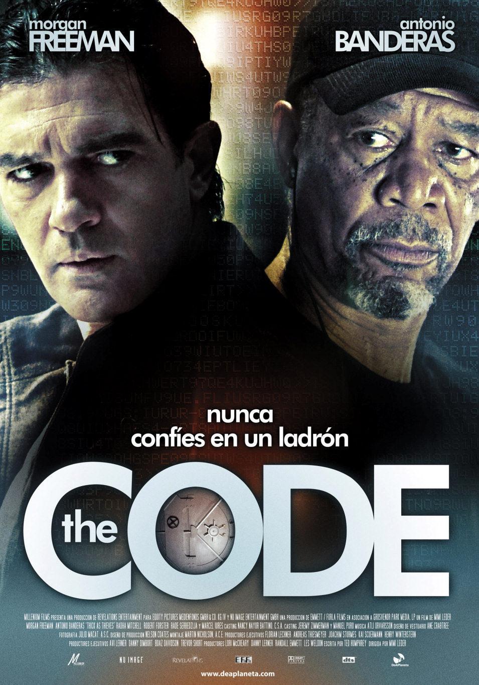 Cartel España de 'The Code'