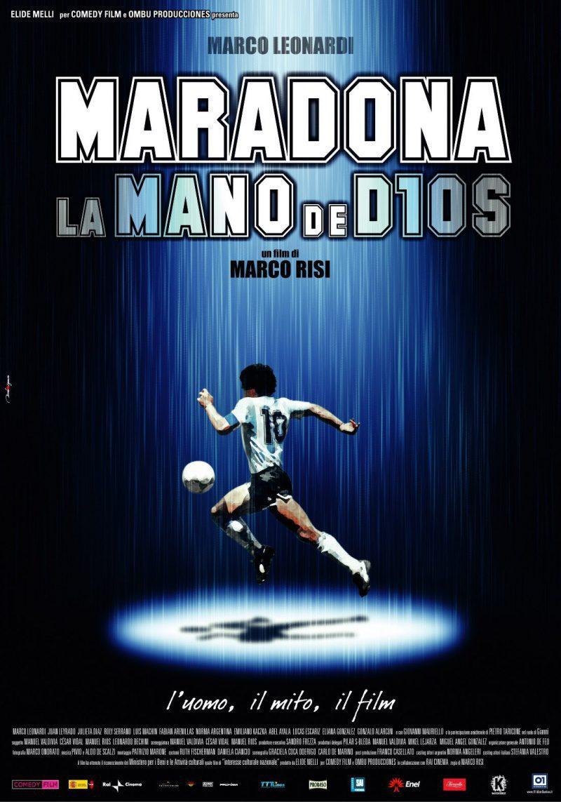 Cartel Argentina de 'Maradona, La mano de Dios'