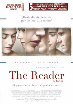 Cartel de The Reader (El lector)