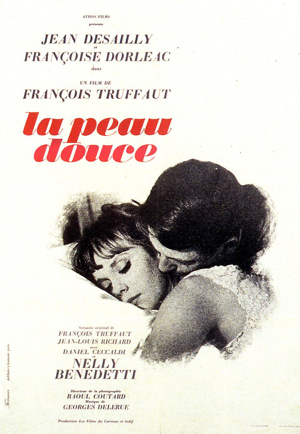 Cartel Francia de 'La piel suave'