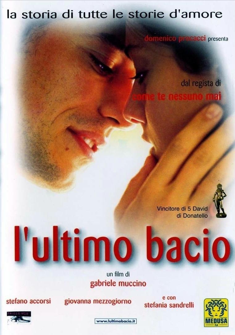 Cartel Italia de 'El último beso'