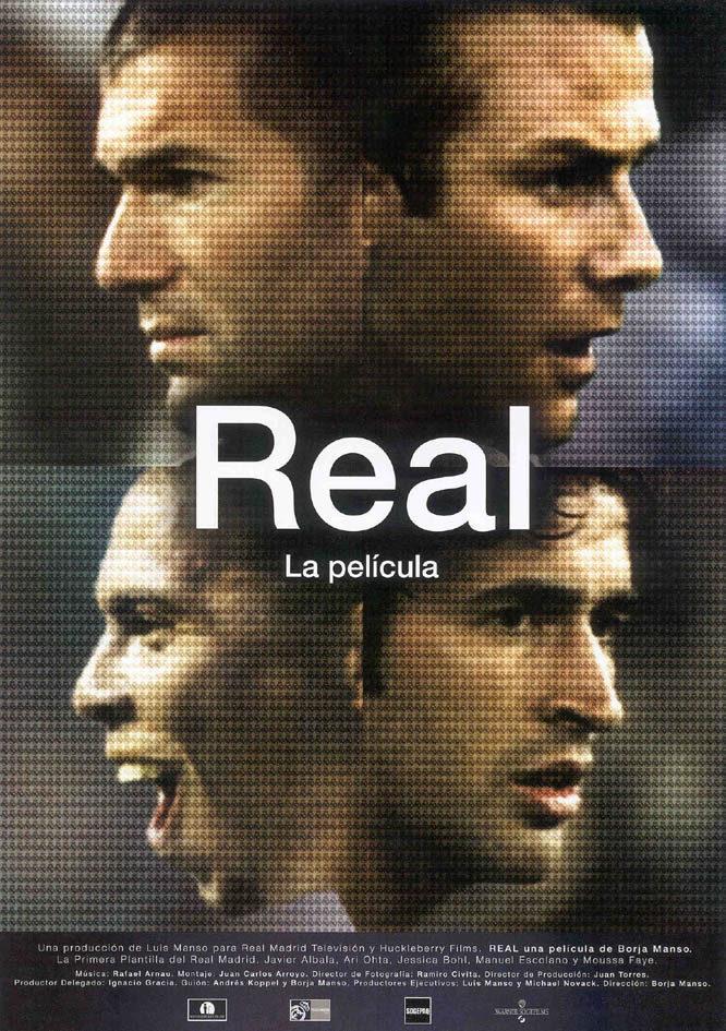 Cartel España de 'Real, la película'