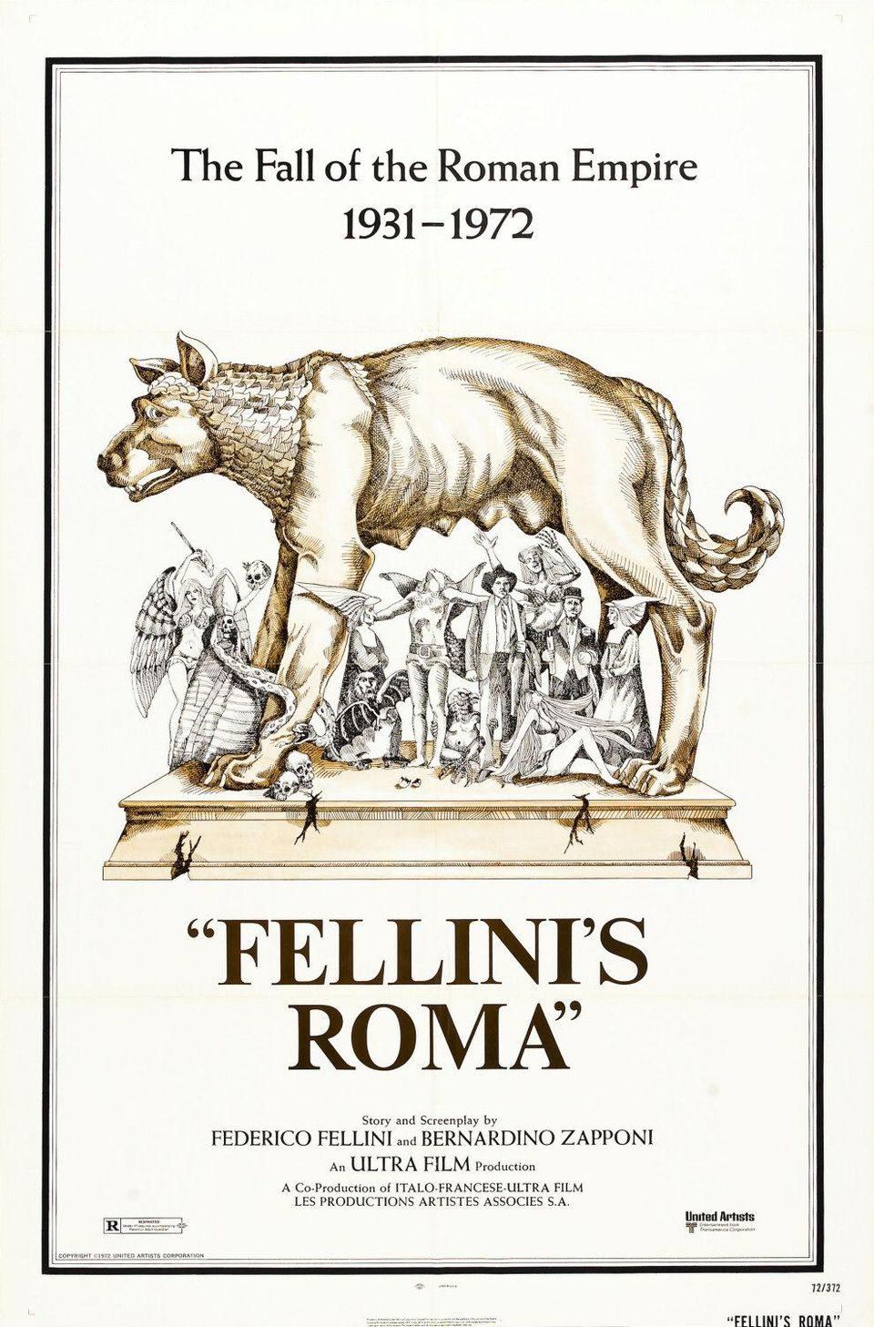 Cartel Estados Unidos de 'Roma'