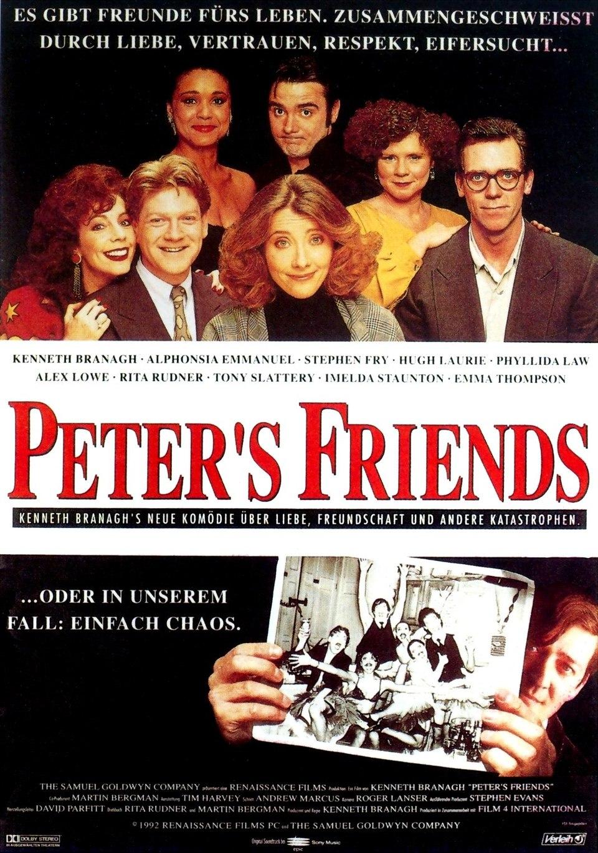 Cartel Alemania de 'Los amigos de Peter'