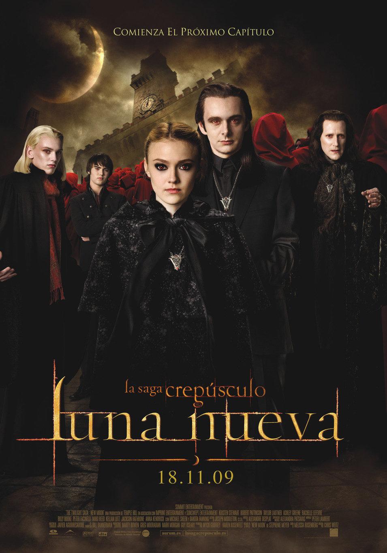 Cartel España - Vulturis de 'Luna nueva'