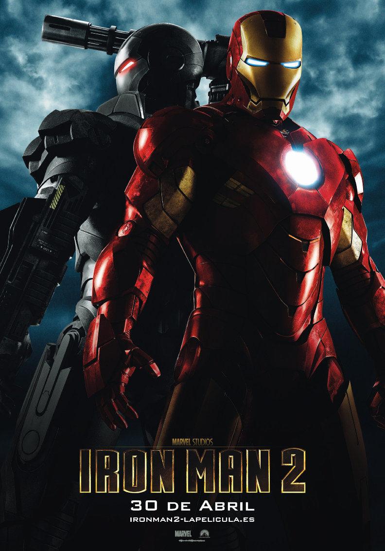 Cartel España de 'Iron Man 2'