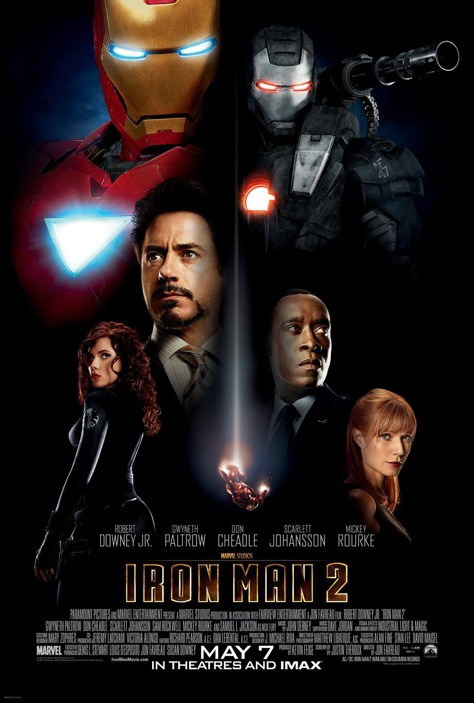 Cartel Estados Unidos de 'Iron Man 2'