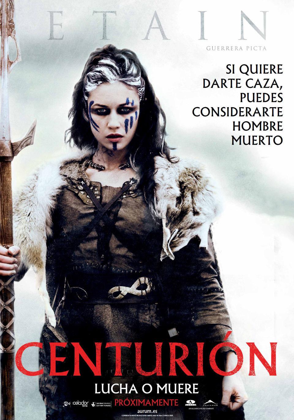 Cartel Etain de 'Centurión'
