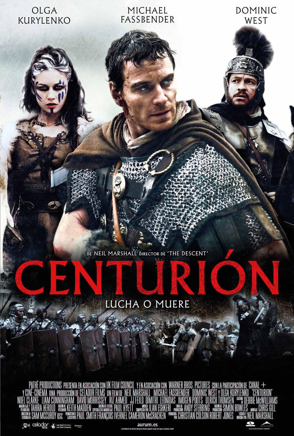 Cartel España de 'Centurión'