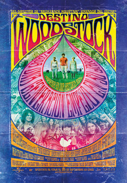Cartel de Destino: Woodstock