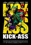 Cartel de Kick Ass. Listo para machacar