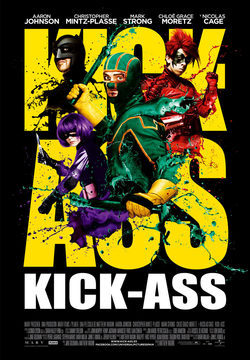 Cartel de Kick-Ass. Listo para machacar