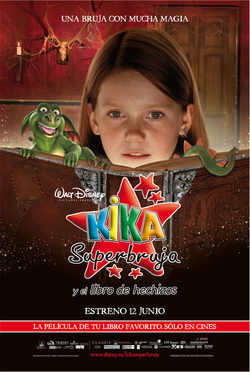 Cartel de Kika superbruja