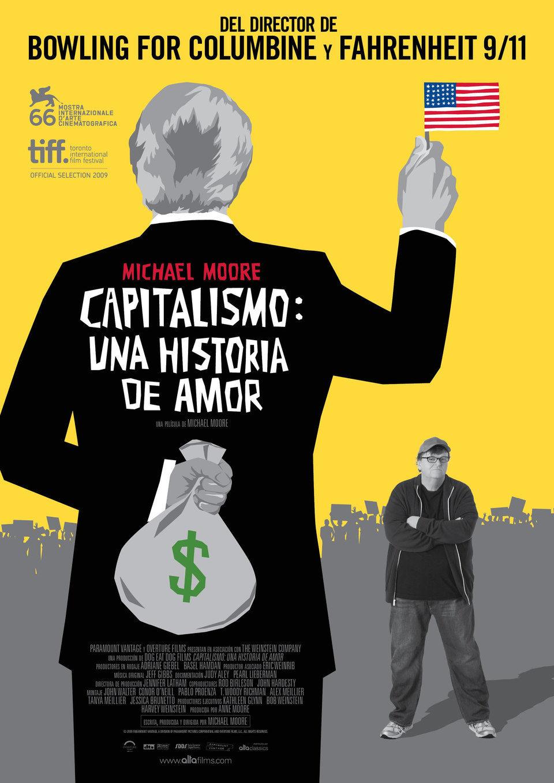 Cartel España de 'Capitalismo: una historia de amor'