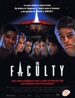 Cartel de The Faculty