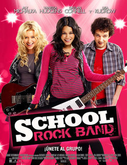 Cartel de School Rock Band