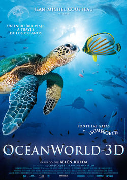 Cartel de OceanWorld 3D