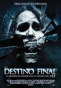 Cartel de Destino final 4