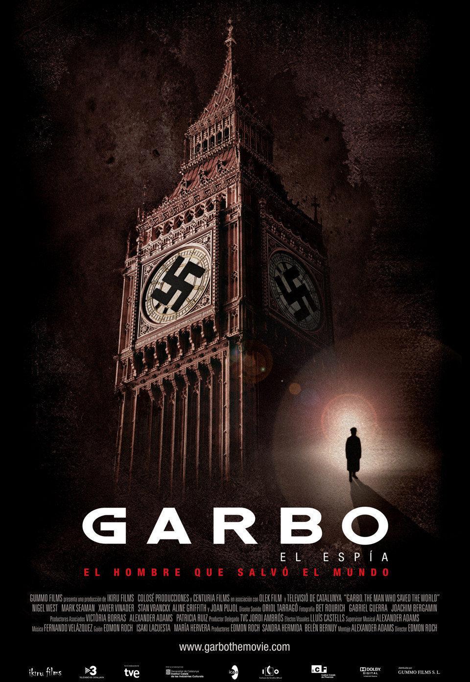 Cartel España de 'Garbo: el espía'