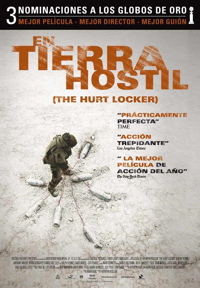 Cartel España de 'En tierra hostil'