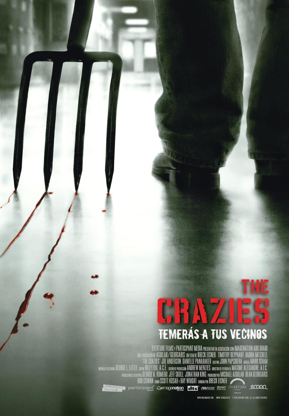 Cartel España de 'The Crazies'