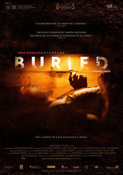 Cartel de Buried (Enterrado)