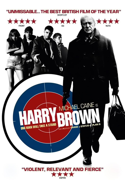 Cartel Reino Unido de 'Harry Brown'