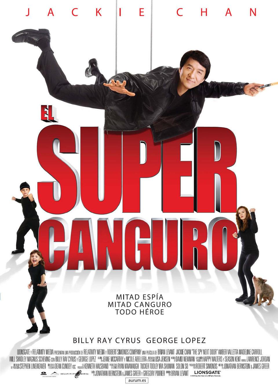 Cartel España de 'El super canguro'