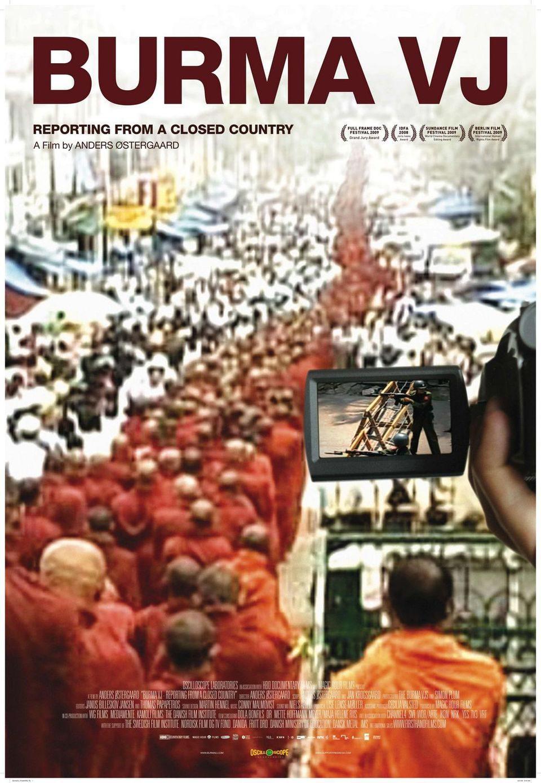 Cartel EEUU de 'Burma VJ: Reporter i et lukket land'