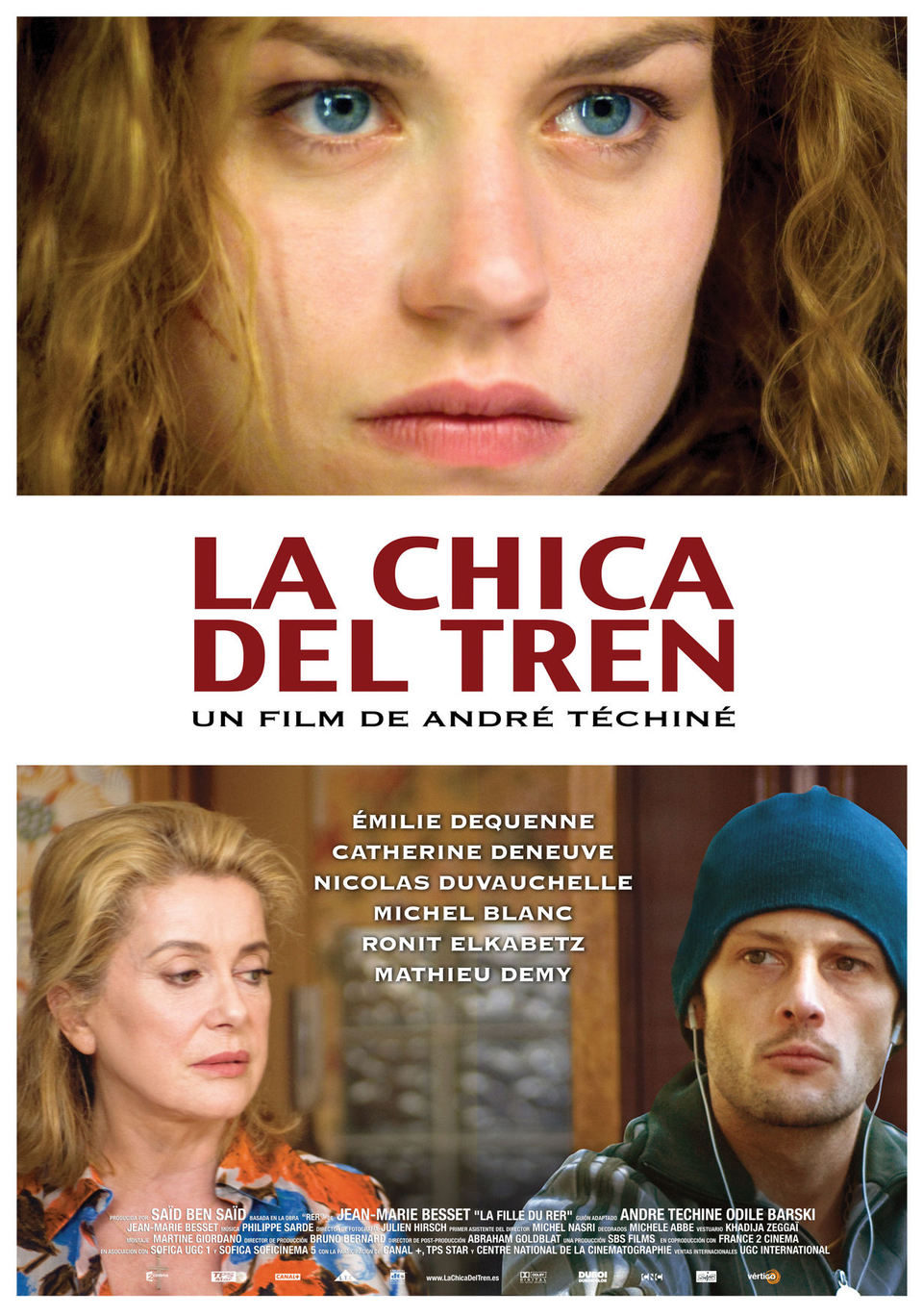 Cartel España de 'La chica del tren'