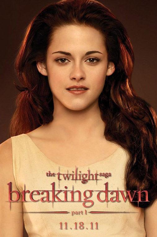 Cartel Kristen Stewart de 'Amanecer: Parte 1'