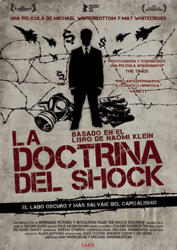 Cartel de La doctrina del shock