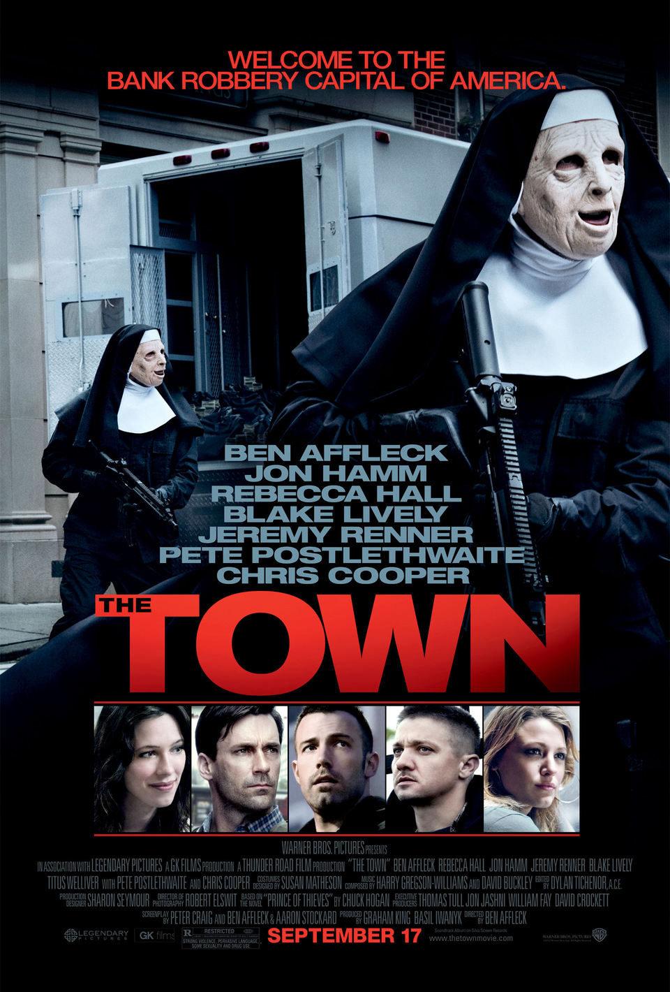 Cartel Estados Unidos de 'The Town. Ciudad de ladrones'