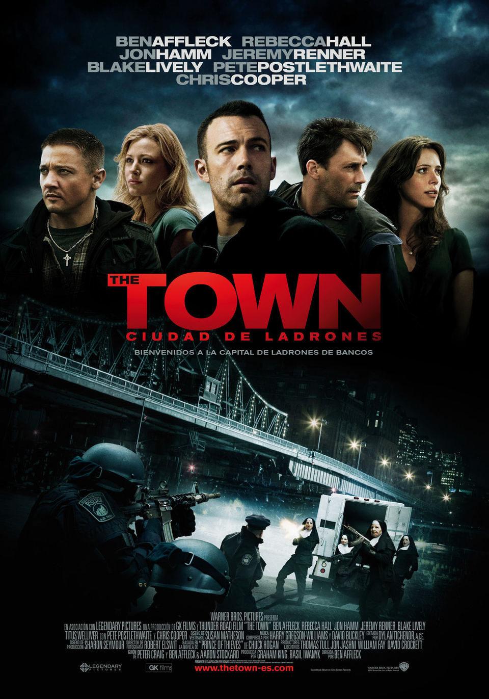 Cartel España de 'The Town. Ciudad de ladrones'